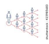 conceptual vector viral... | Shutterstock .eps vector #415985683
