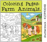 Coloring Pages  Farm Animals....