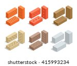 Set Of 6 Bricks Are Shown In...