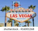 las vegas  nevada   october 23  ... | Shutterstock . vector #416001268