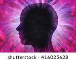 Illustration Of Human Head Wit...