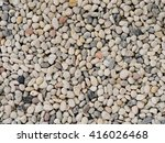 Small White Stone Gravel...