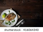 Grilled Fish  Vomer  Lime  Dil...
