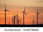 Wind Turbines High Hill Green...