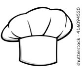 chef hat icon | Shutterstock .eps vector #416094520