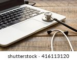 concept   picture of computer... | Shutterstock . vector #416113120