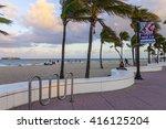 ocean walk in fort lauderdale...   Shutterstock . vector #416125204