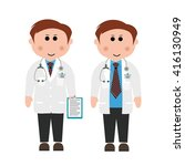 hospitals  doctors | Shutterstock .eps vector #416130949