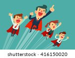 super business team team of... | Shutterstock .eps vector #416150020