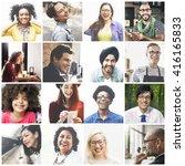 diversity diverse ethnic... | Shutterstock . vector #416165833