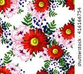 abstract elegance seamless... | Shutterstock . vector #416166754