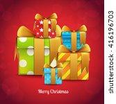 christmas  christmas design   Shutterstock .eps vector #416196703
