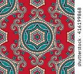 turkish ornament    seamless... | Shutterstock .eps vector #416199868