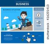 business illustration | Shutterstock .eps vector #416201413