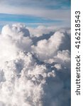 the fluffy clouds formation ... | Shutterstock . vector #416218543