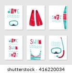 Set Of Cute Creative Card...