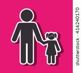 family members design    Shutterstock .eps vector #416240170