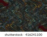 colorful psychedelic background ... | Shutterstock . vector #416241100