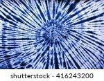 Tie Dye Pattern In Dark Blue...