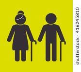 family members design  | Shutterstock .eps vector #416245810