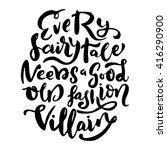 brush lettering design. phrase... | Shutterstock .eps vector #416290900