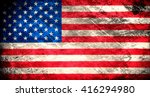 flag of usa | Shutterstock . vector #416294980