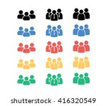 people group icon. man icon. ...   Shutterstock .eps vector #416320549