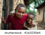 editorial use. children in... | Shutterstock . vector #416325064