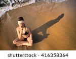 Meditation Beach At Yoga Home....