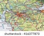 glasgow  uk   circa may 2016 ...   Shutterstock . vector #416377873