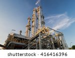 distillation columns and their... | Shutterstock . vector #416416396