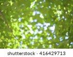 image of defocused green... | Shutterstock . vector #416429713