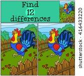 children games  find... | Shutterstock .eps vector #416433220