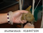 tied dumplings | Shutterstock . vector #416447104