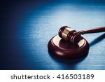High Contrast Image Of Judge\'s...