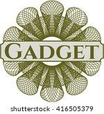 gadget money style rosette | Shutterstock .eps vector #416505379