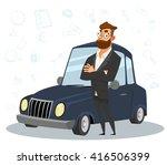 business man. business... | Shutterstock .eps vector #416506399
