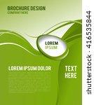 brochure design content... | Shutterstock .eps vector #416535844