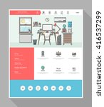 quality website template vector ...