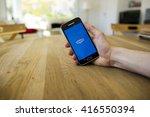 lendelede  belgium   may 02th... | Shutterstock . vector #416550394