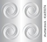 silver circles   Shutterstock .eps vector #41655376