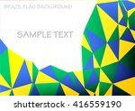 abstract triangle background... | Shutterstock .eps vector #416559190