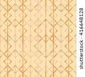 ethnic boho seamless pattern.... | Shutterstock .eps vector #416648128