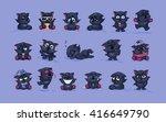 set vector stock illustrations... | Shutterstock .eps vector #416649790