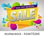sale. | Shutterstock .eps vector #416675260