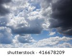 sky clouds | Shutterstock . vector #416678209