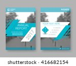 annual report  flyer  brochure. ...