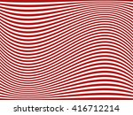 curved stripes. abstract... | Shutterstock .eps vector #416712214