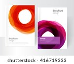 vector abstract business... | Shutterstock .eps vector #416719333