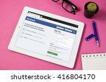bangkok thailand   may 7 2016 ...   Shutterstock . vector #416804170